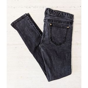 SIZE 30 - Washed Black Free People Jeans
